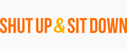 Shut Up & Sit Down Logo